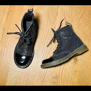 Dr. Martens 1460 black sequins pooch boots